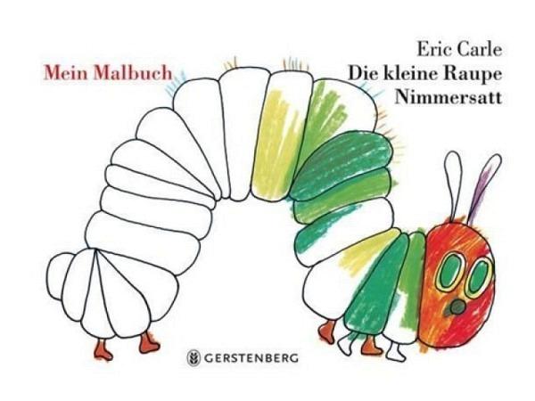 Buch Die kleine Raupe Nimmersatt. Mein Malbuch