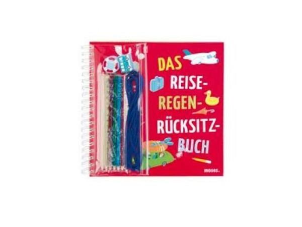 Buch das reise-regen-rücksitz-buch, 24,6x26,1cm