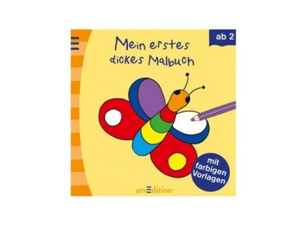 Buch Mein dicker Kindergarten-Malblock