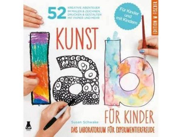 Buch Kunst Lab für Kinder, inspirierendes Anleitunsgbuch