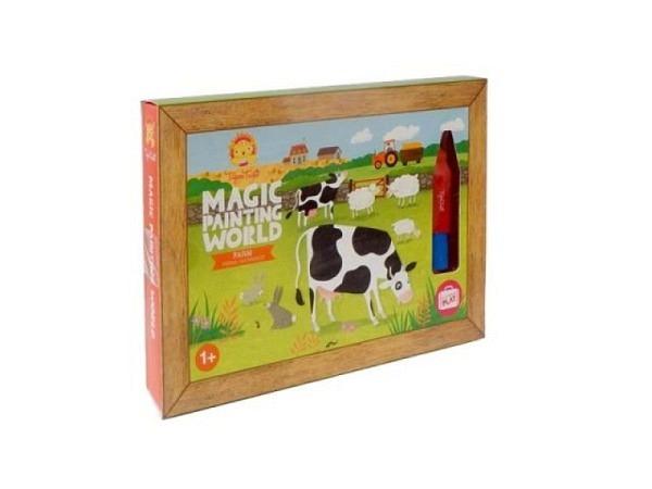 Malbuch Inspiration Happy World, Ausmalbuch für Erwachsene