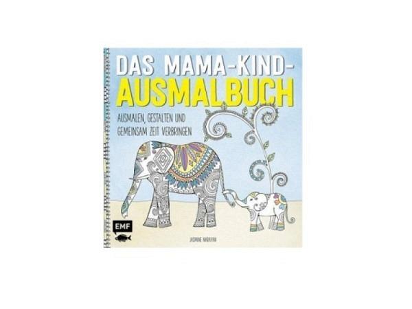 Malbuch Das Mama-Kind-Ausmalbuch, ausmalen