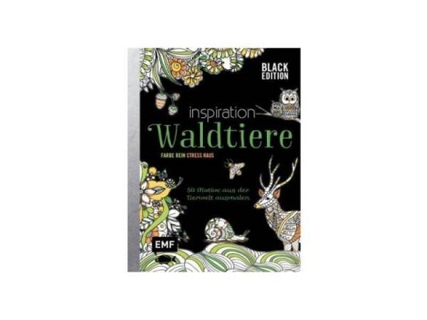 Malbuch wilde Tiere ausmalen, tierisch geometrisch