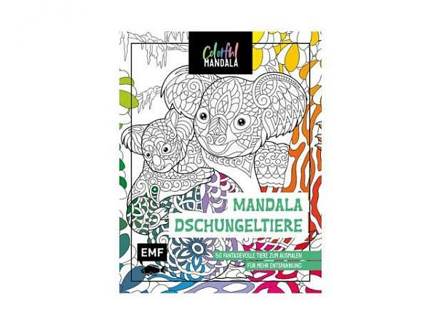 Malvorlage Elfen-Mandalas 19x19cm, für Kinder ab 4 Jahren