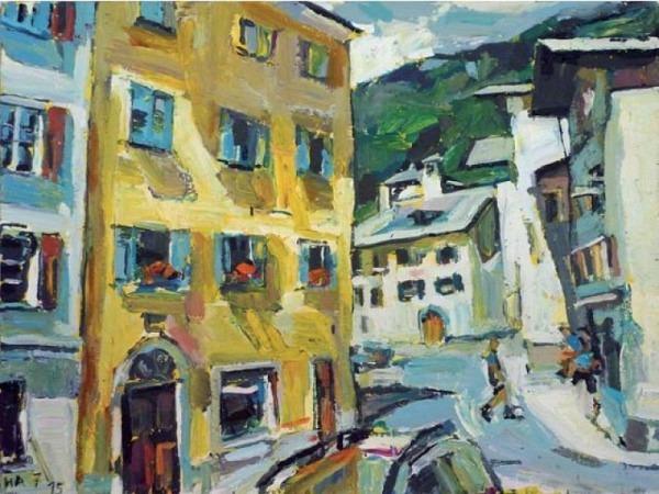 Malen und Zeichnen bei Heini Andermatt, Nr. 18