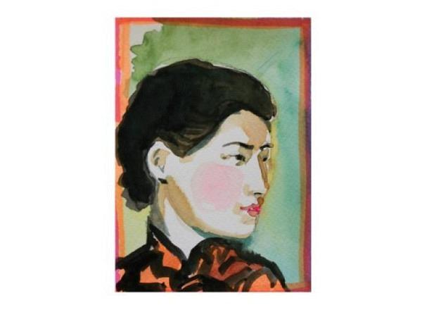 Portrait - und figürliche Darstellung bei Christina Wellinger, Nr. 24