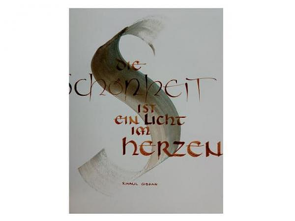 Kalligrafie bei Regula Monnet, Nr. 68