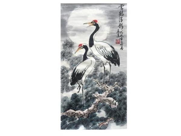 Chinesische Tuschmalerei bei Meng-Chen Yang, Nr. 35