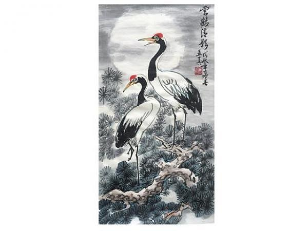 Chinesische Tuschmalerei bei Meng-Chen Yang, Nr. 36