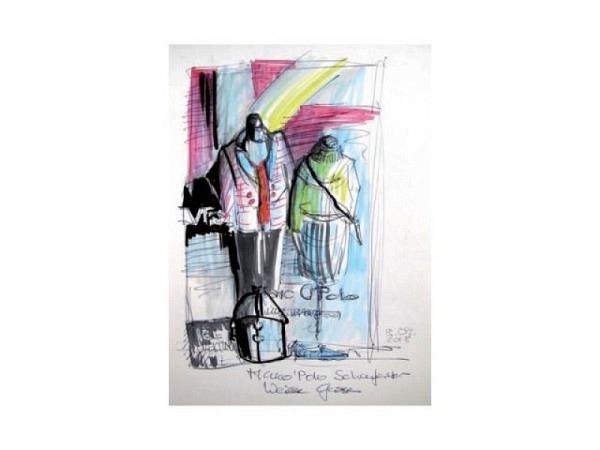 Mit Punkten Malen bei Robin Ballard Nr. 76