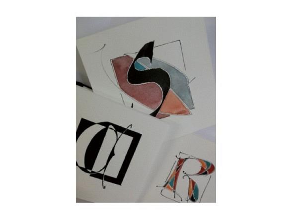 Kalligrafie bei Regula Monnet, Nr. 71