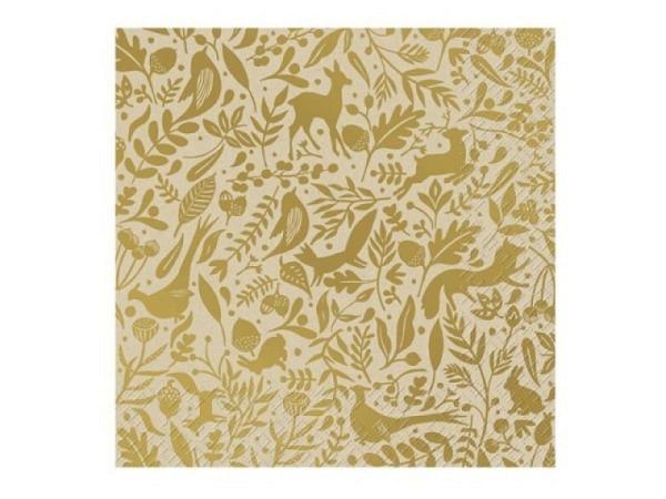 Servietten Stewo Luke mit Schriftzug Happy Birthday