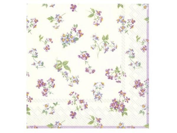 Servietten Ihr Bellina cream Tissue 20Stk., 33x33cm 3-lagig, von Ideal Home Range