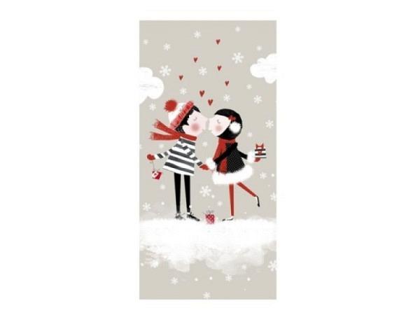 Taschentuch Atelier Christmas Kiss 10Stk. bedruckt