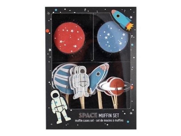 Backset Ava&Yves Cupcake Kit Space