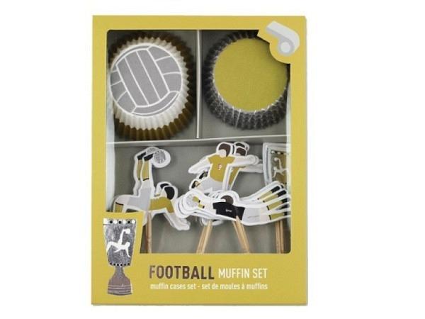 Backset Ava&Yves Cupcake Kit Fussball