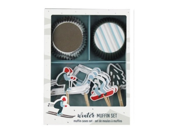 Backset Ava&Yves Cupcake Kit Ski,