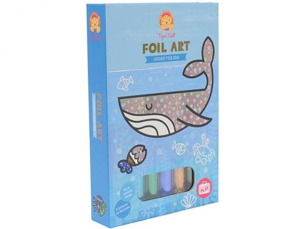 Activity Set Bertoy Tiger Tribe Foil Art Under the Sea