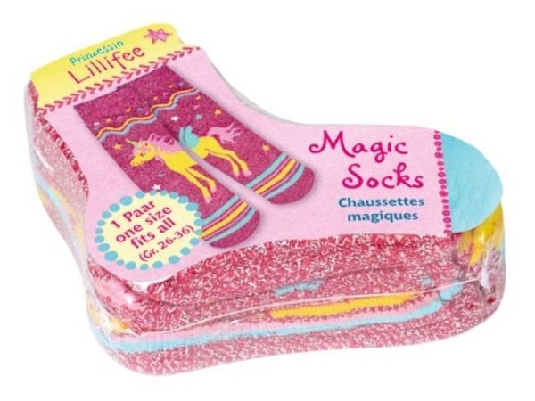 Kindersocken Coppenrath Magic Socks Lillifee rosa, Gr. 26-36