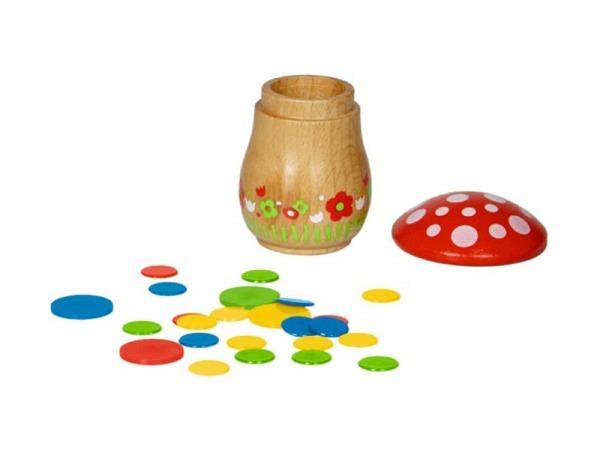 Holzbilderbuch Atelier Fischer 15,5x10,5cm Bauernhof