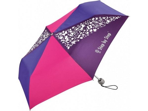 Regenschirm Step by Step Purple&Rose