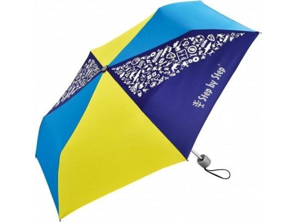 Regenschirm Step by Step Blue&Yellow