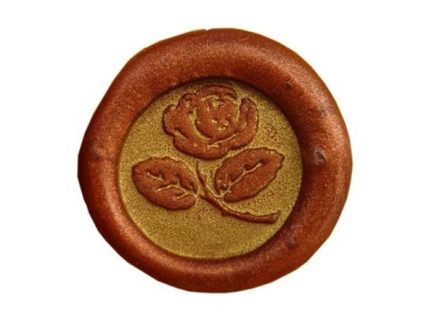 Petschaft Classic Seals 17mm rund Rose