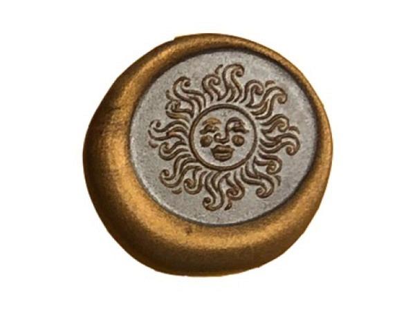 Petschaft Classic Seals 17mm rund Sonne
