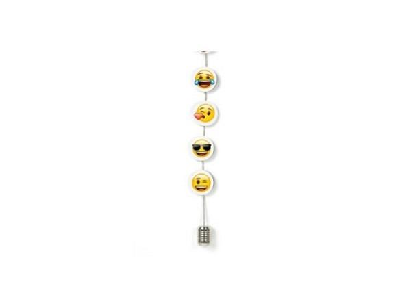 Kartenhalter Trendform Emoji 150cm 8 Magnete