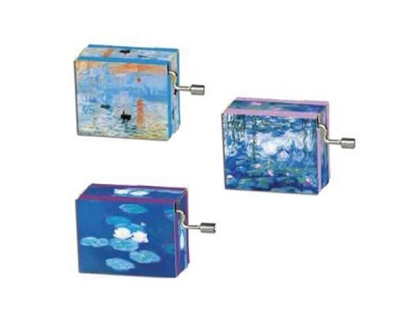 Musikdose Claude Monet 4,5x6cm