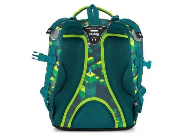 schulthek caméléon retro blue cats  rucksack tornister