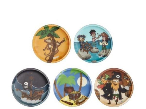 Zubehör Kletties Ergobag matt Piraten 5 verschiedene Motive