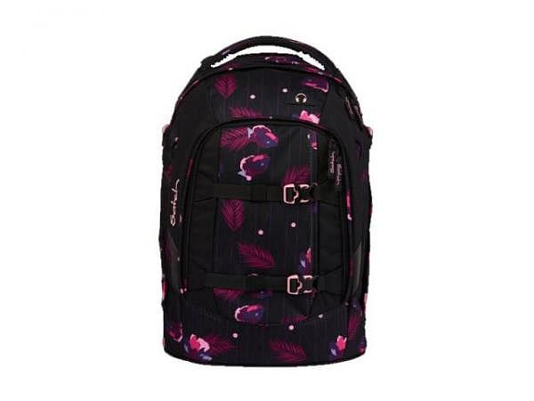 Rucksack Satch Pack Purple Hibiscus