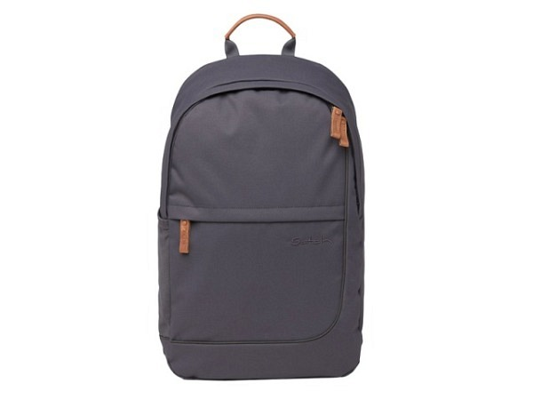 Rucksack Margelisch Backpack Bandir Canvas grey, 27x12x35