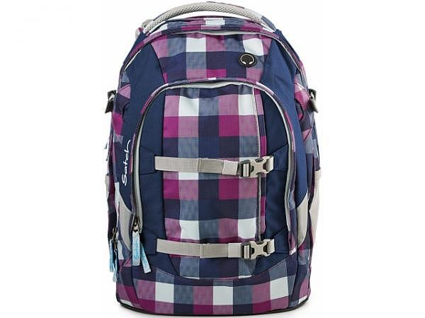 Rucksack Satch Pack Berry Carry violett-lila Karo