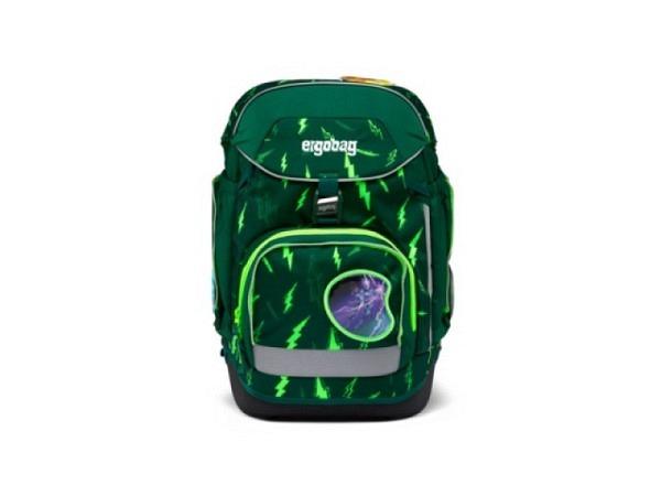 Rucksack Ergobag Pack Special Edition Neo IllumiBär Set 7tlg. mit Sportrucksack, welcher separat get