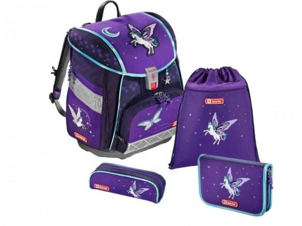 Schulthek Step by Step Touch 2 Pegasus Purple 4-tlg. Set