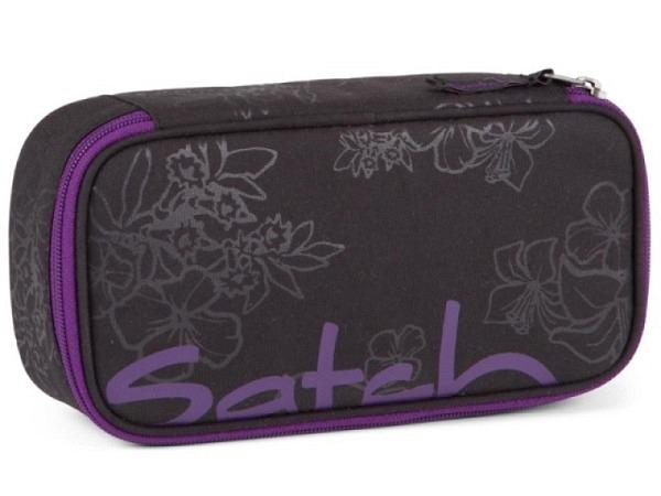 Schüleretui Satch Purple Hibiscus