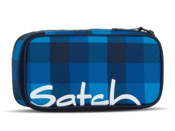 Schüleretui Satch Robby Bobby dunkelblau eckige Form