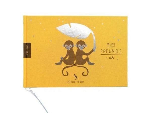 Freundschaftsbuch Pleasedtomeet Meine Freunde und ich 21.5x14.5x1.4cm