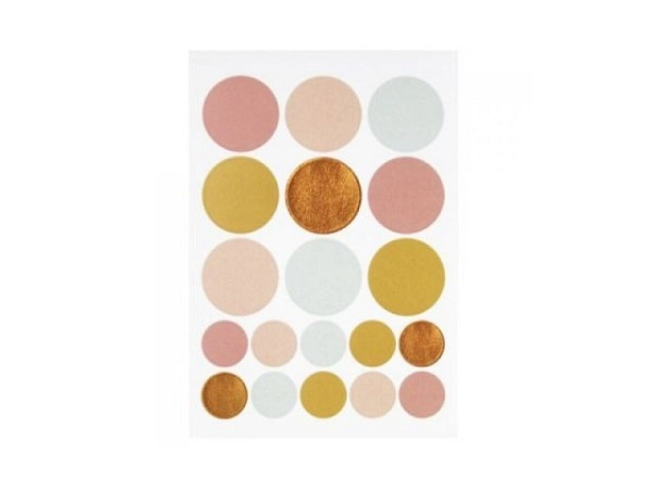 Aufkleber Artoz Artwork Happy Birthday, Torte, Kerzen