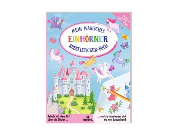 Aufkleber Fukui Asia auf Büttenpapier mit blauen Blüten