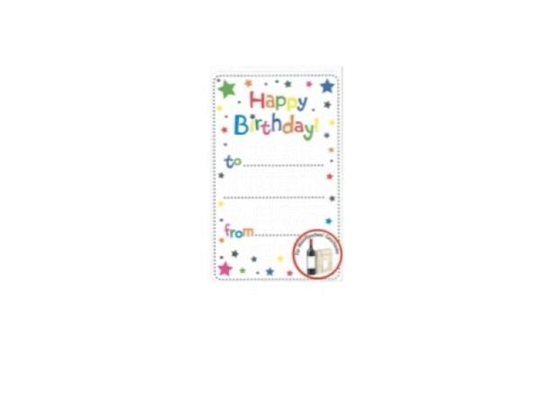 Aufkleber bsb Creative-Sticker, Happy Birthday to...from...