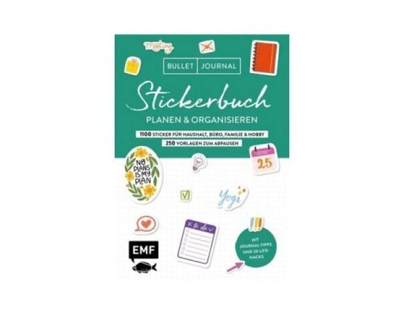 Stickeralbum Bullet Journal Planen und Organisieren mit 1100 Aufkleber