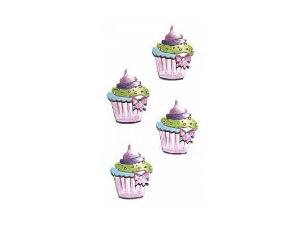 Aufkleber Artoz Artwork Smart Sticker Cupcakes