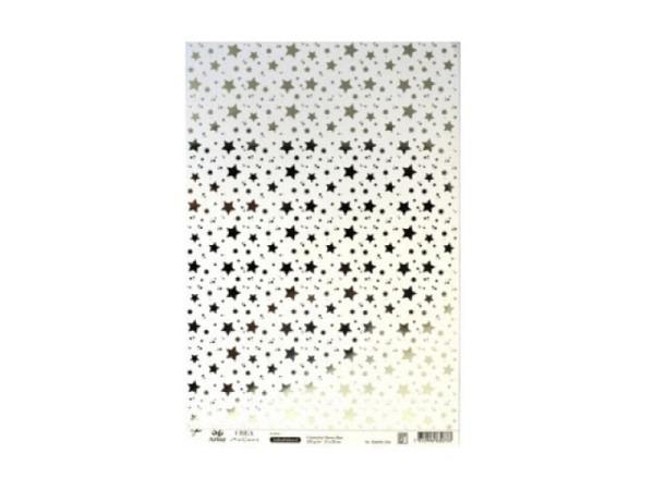 Aufkleber Artoz Creamotion 21x30cm kleine Sterne silber