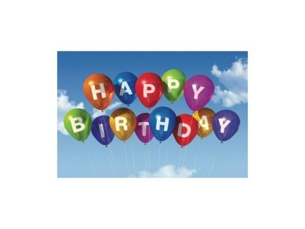 Geburtstagskarte Daboost Ballon 11,5x17,0cm B6
