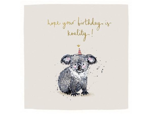Geburtstagskarte AvanCarte Animals Nacktkatze 11,5x16,5cm