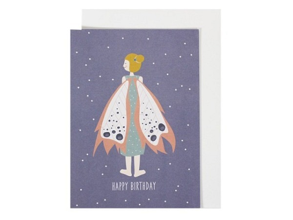 Geburtstagskarte Ava&Yves Elfe A6 14,8x10,5cm