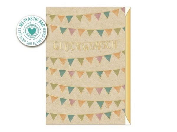 Geburtstagskarte Artebene Happy Birthday Colour